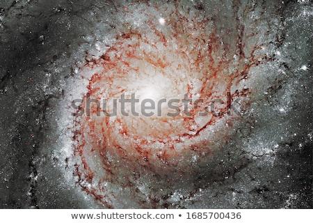 galaksi · gökyüzü · güneş · ışık · mavi · kırmızı - stok fotoğraf © rwittich