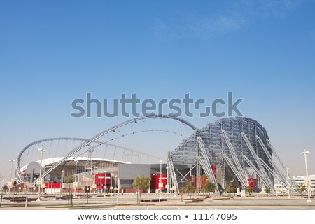 Stock photo: The Aspire Sports Stadium, Doha, Qatar