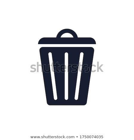 Wastepaper basket Stock photo © doupix
