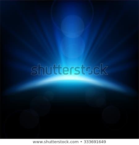 shining blue lights Stock photo © marinini