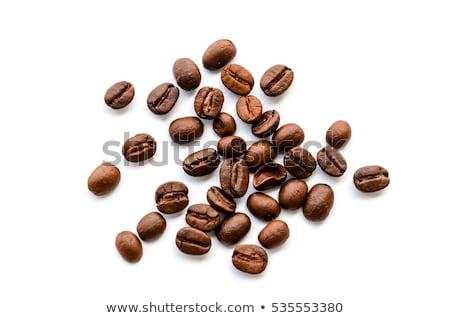 beans macro at studio white background stock photo © lunamarina