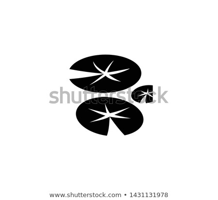 Icon lily pad Stock photo © zzve