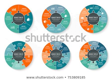 streszczenie · wektora · życia · cyklu · schemat · biały - zdjęcia stock © unkreatives