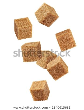 Zucchero di canna bianco candy Foto d'archivio © marekusz
