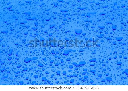 Cair água harmônico estrutura superfície metálica carro Foto stock © meinzahn