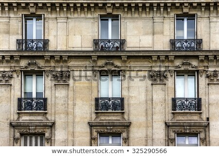 Traditional French architecture Stock photo © joyr
