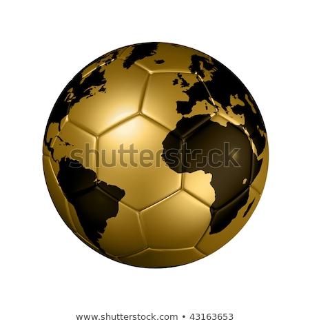 Бразилия · Футбол · иллюстрация · лес · Мир · футбола - Сток-фото © kiddaikiddee
