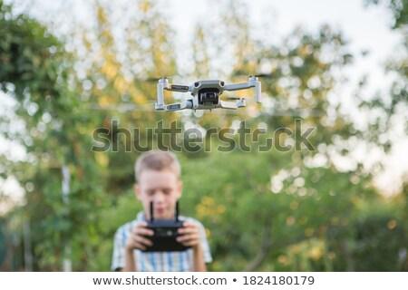 little video game pilots boys stock photo © Giulio_Fornasar