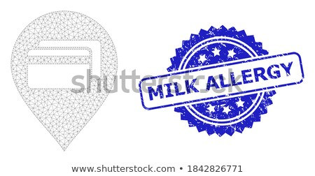Allergy Blue Marker Stock photo © ivelin