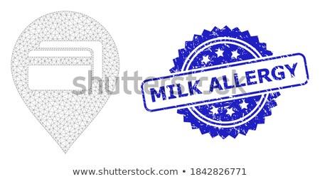 allergy blue marker stock photo © ivelin