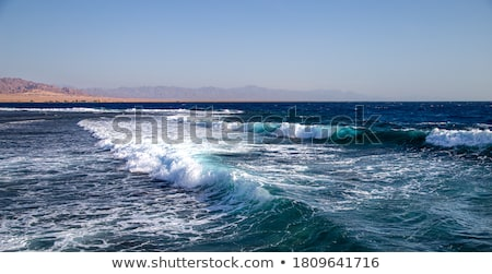 Zdjęcia stock: Morza · wściekły · fale · wiatr · wody