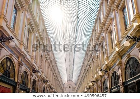 Bruxelas Bélgica edifício cidade vidro compras Foto stock © neirfy