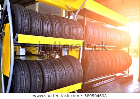 Worn Warehouse Stock photo © gemenacom