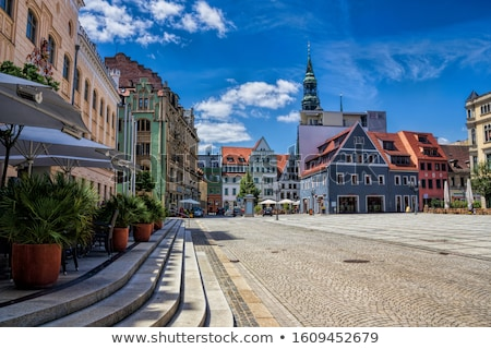 Zwickau main square  Stock photo © LianeM