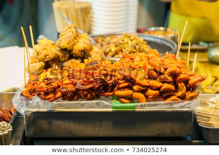 food in china-- pig intestine Stock photo © wxin