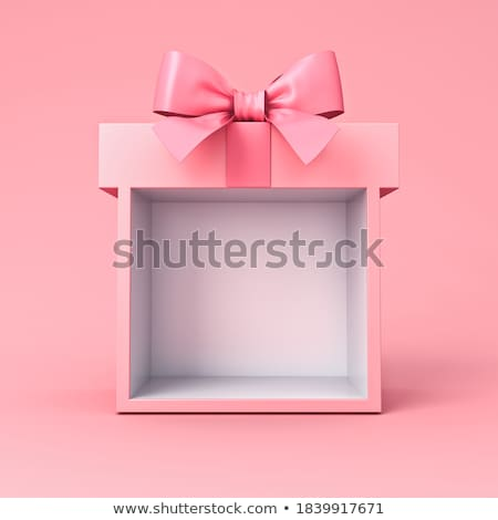 Cor caixas presentes férias aniversário Foto stock © 3dart