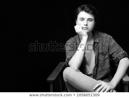 élégant Guy faible Photo stock © mettus