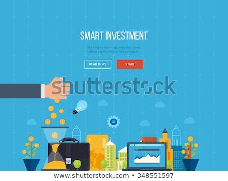ontwerp · mobiele · marketing · geld - stockfoto © davidarts