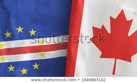 canada and cabo verde flags stock photo © istanbul2009