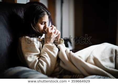 Diarréia ver mulher torso sofrimento Foto stock © Novic
