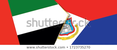 United Arab Emirates and Sint Maarten Flags Stock photo © Istanbul2009