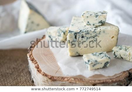 スライス · 羊 · チーズ · はちみつ · 梨 · プレート - ストックフォト © digifoodstock