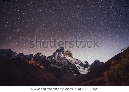 Peak Mountain Ushba Stock photo © Kotenko