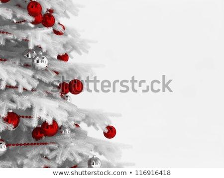 красный Рождества иллюстрация искусства Сток-фото © rommeo79