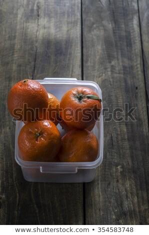 overheard shot of tangerines  Stock photo © nessokv