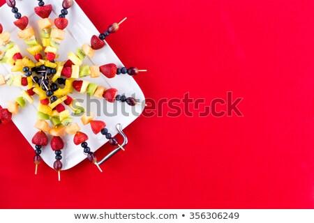 свежие · фрукты · экзотический · тропические · Летние · фрукты - Сток-фото © ozgur