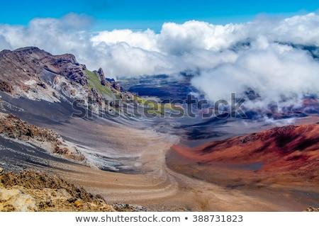 公園 ハワイ 崖 風景 山 色 ストックフォト © iofoto