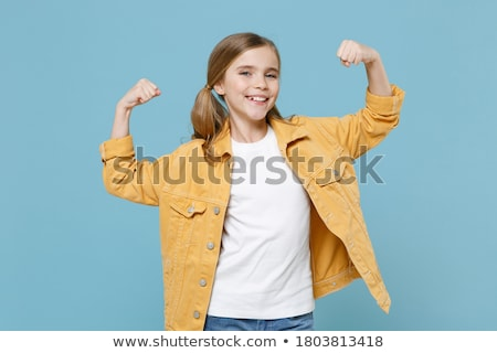 macsó · tinédzser · férfi · test · fitnessz · vicces - stock fotó © zurijeta
