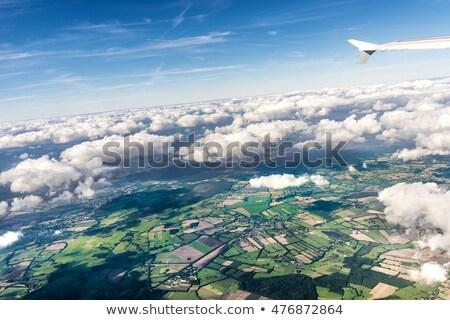 aerial of rural area near Hamburg Stock photo © meinzahn