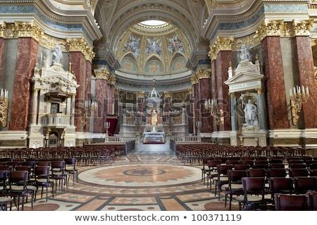 Altar Basilica Saint Stephens Cathedral Budapest Hungary Stock photo © billperry