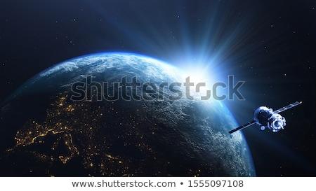 ストックフォト: 空 · 実例 · 地球 · スペース · 緑 · 青
