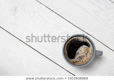 Кубок растворимый кофе красный полный кофе изолированный Сток-фото © simply