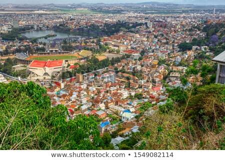 Antananarivo cityscape, Tana, capital of Madagascar Stock photo © artush