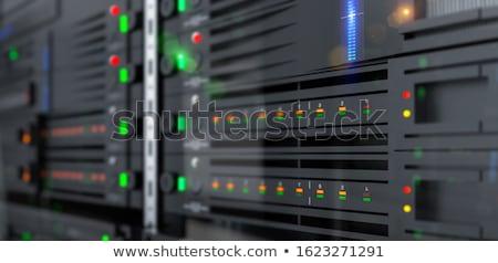 компьютер блок мнение синий случае Сток-фото © robuart