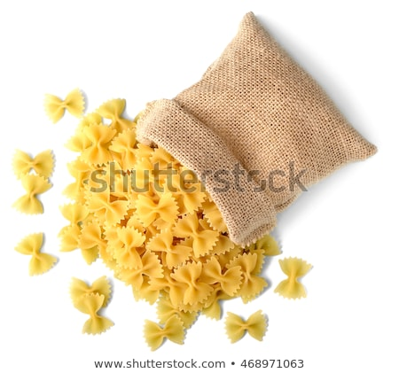Uncooked farfalle pasta stock photo © Digifoodstock