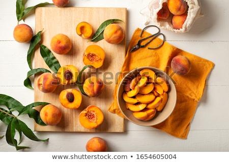 Cozinhar congestionamento fresco canela açúcar mascavo frutas Foto stock © BarbaraNeveu