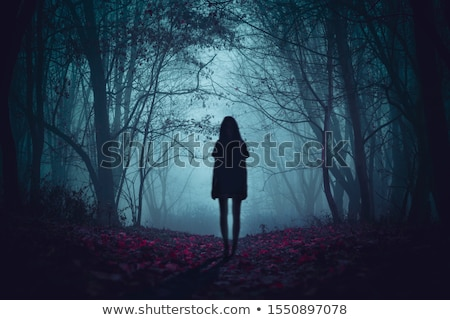 мрачный Мир Cartoon темно облака Тени Сток-фото © blamb