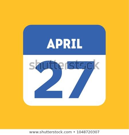 Stockfoto: Wereld · dag · grafisch · ontwerp · kalender · wenskaart · vakantie