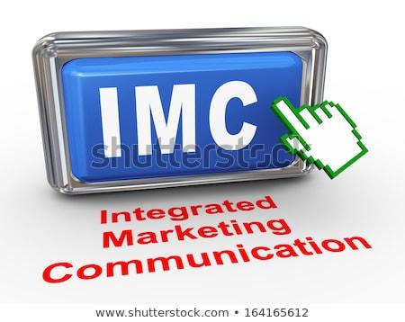 Business integratie 3D Rood naald Stockfoto © tashatuvango