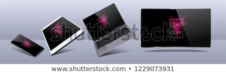 3d tv screens digital tablet pc stock photo © daboost