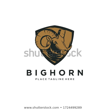 Baran odizolowany owiec bestia charakter Zdjęcia stock © popaukropa