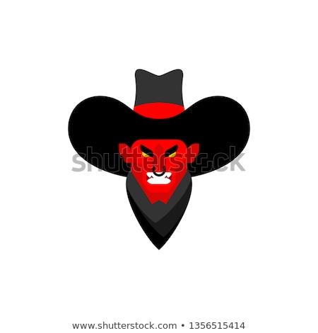 Angry Cartoon Gunfighter Stock photo © cthoman