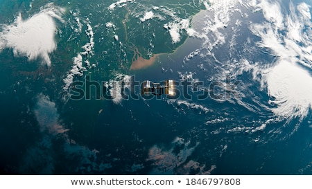 Terre haut Photo stock © ordogz