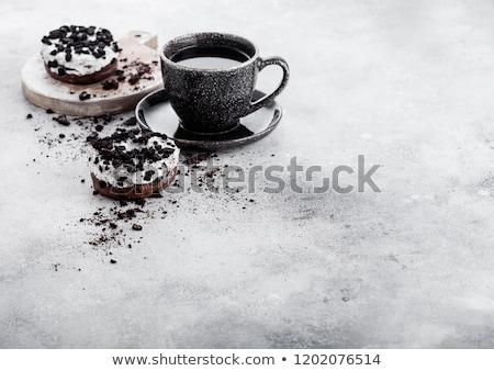 甘い食べ物 · 食品 · 背景 · デザート · 新鮮な - ストックフォト © denismart