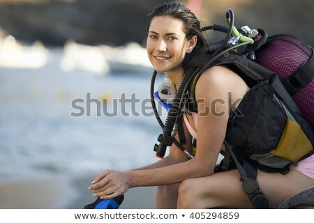 Scuba Diver Excited stock photo © cthoman