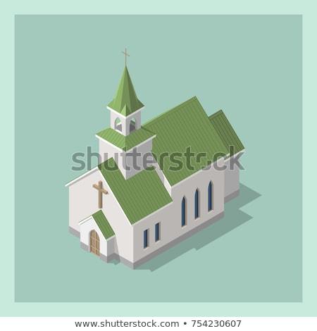 Religions color isometric concept icons Stock photo © netkov1